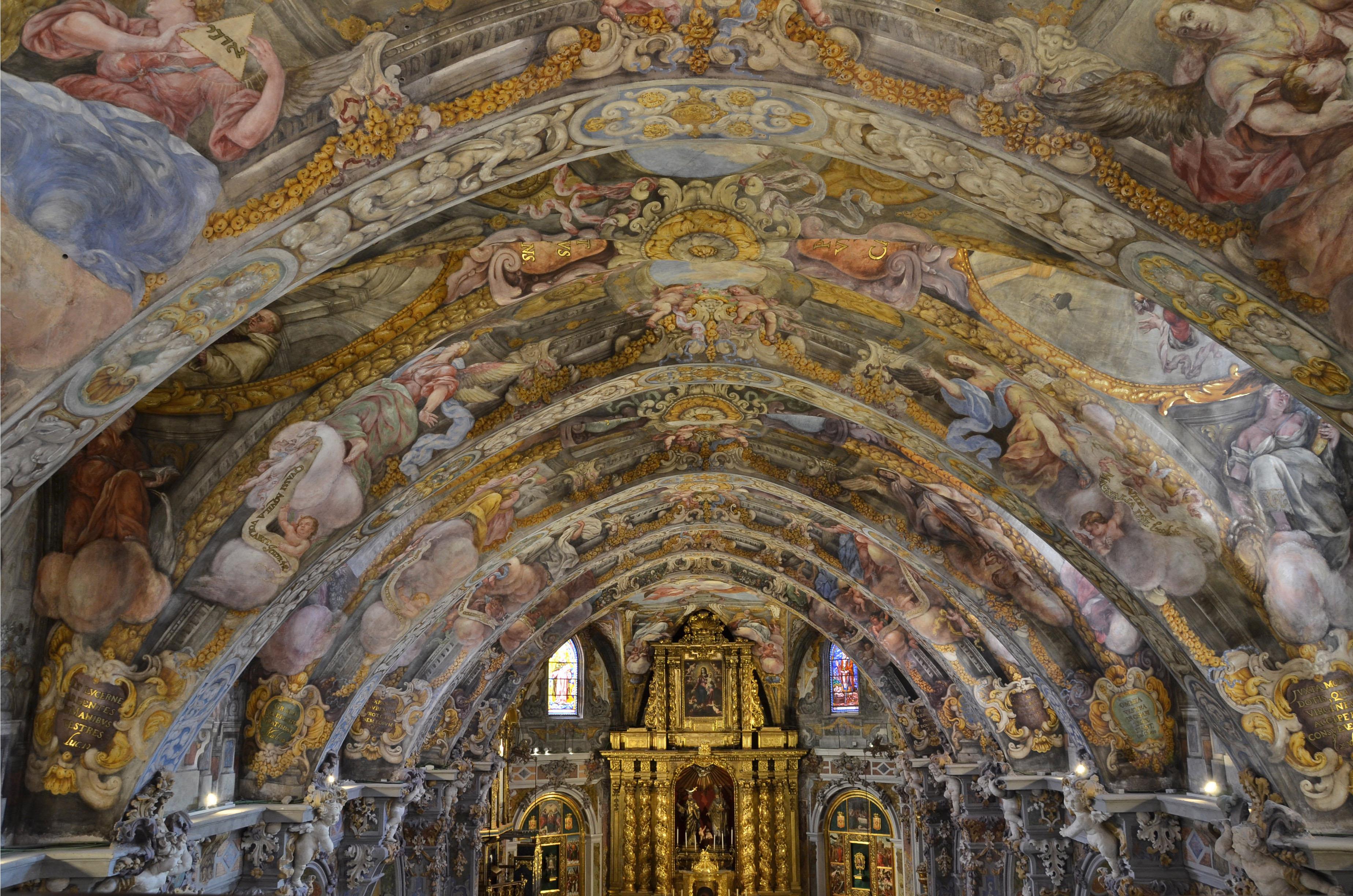 El Instituto IRP de la UPV coordinó la restauración pictórica de los frescos de la Iglesia de San Nicolás